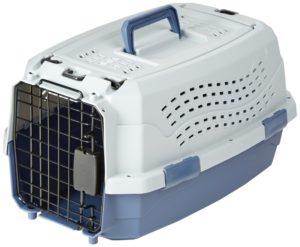 Hundetransportbox aus Kunststoff - AmazonBasics