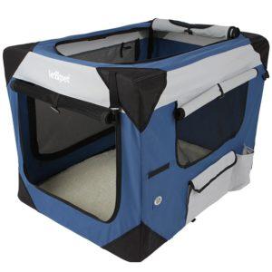 Hundetransportbox für kleine Hunde - Klappbar