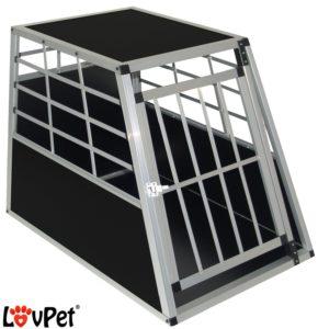 Hundetransportbox aus Aluminium LovPet